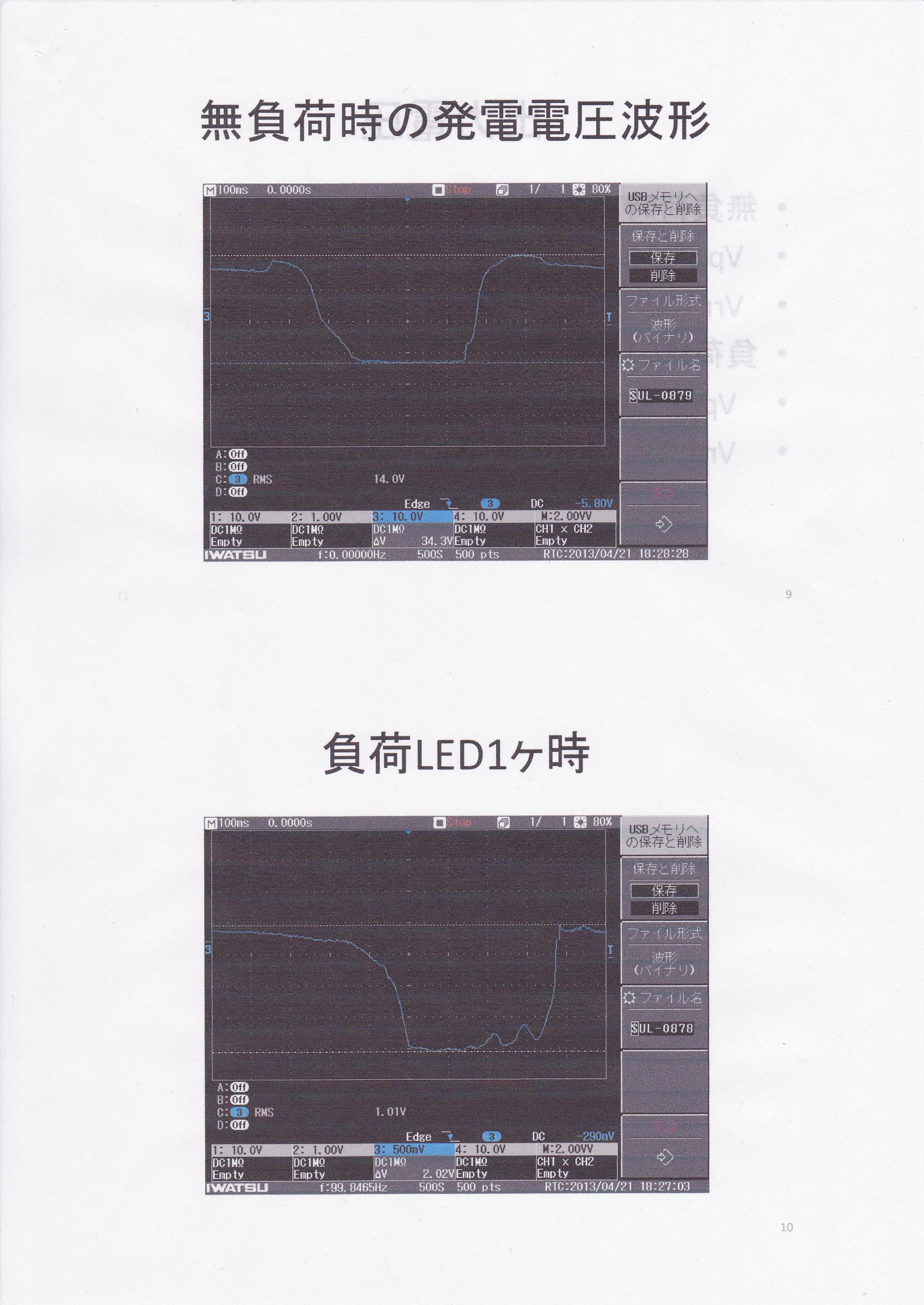 ミニ床発電モジュール実験5