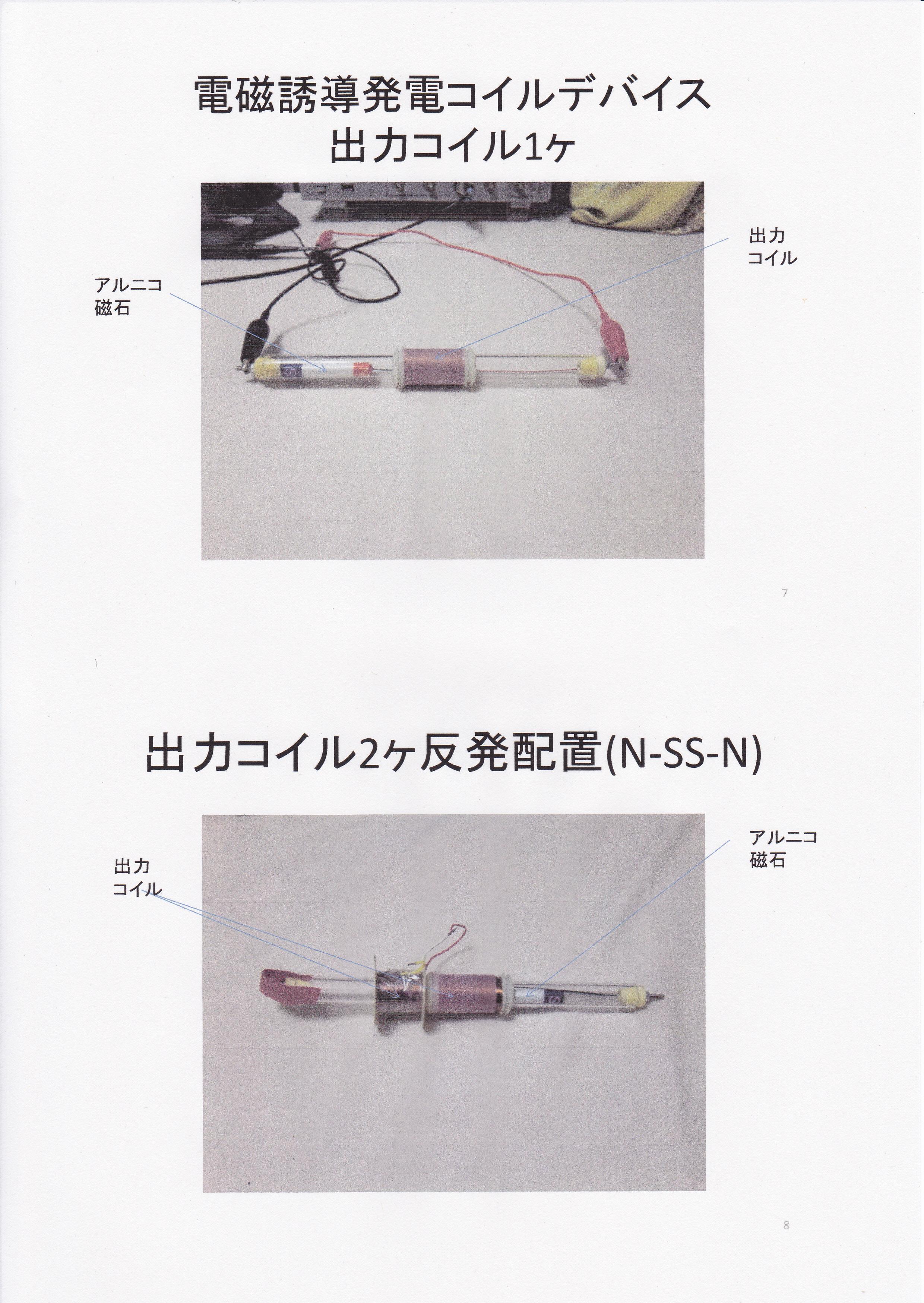 電磁式振動発電機1
