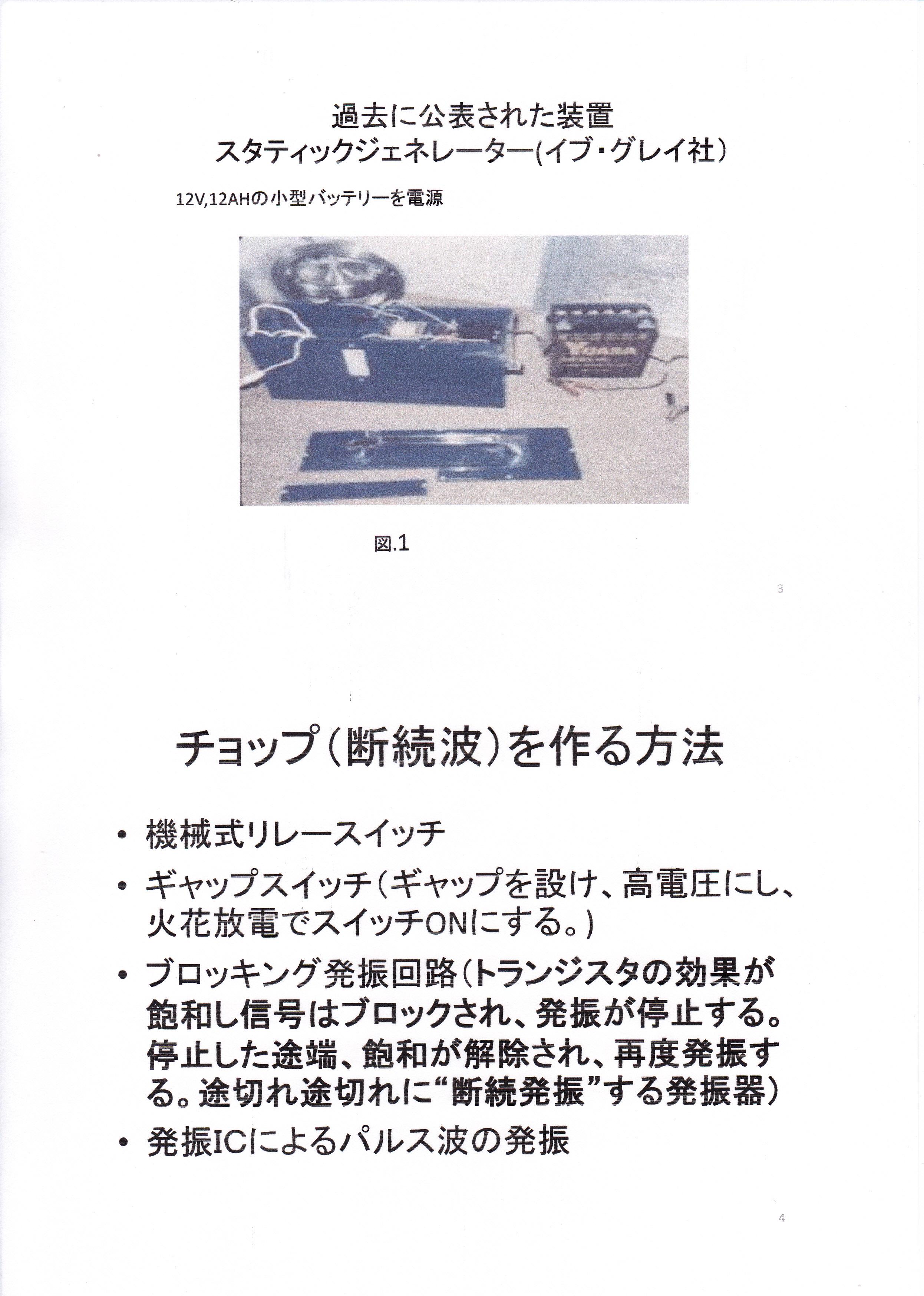 静止型発電機の基礎研究01-2