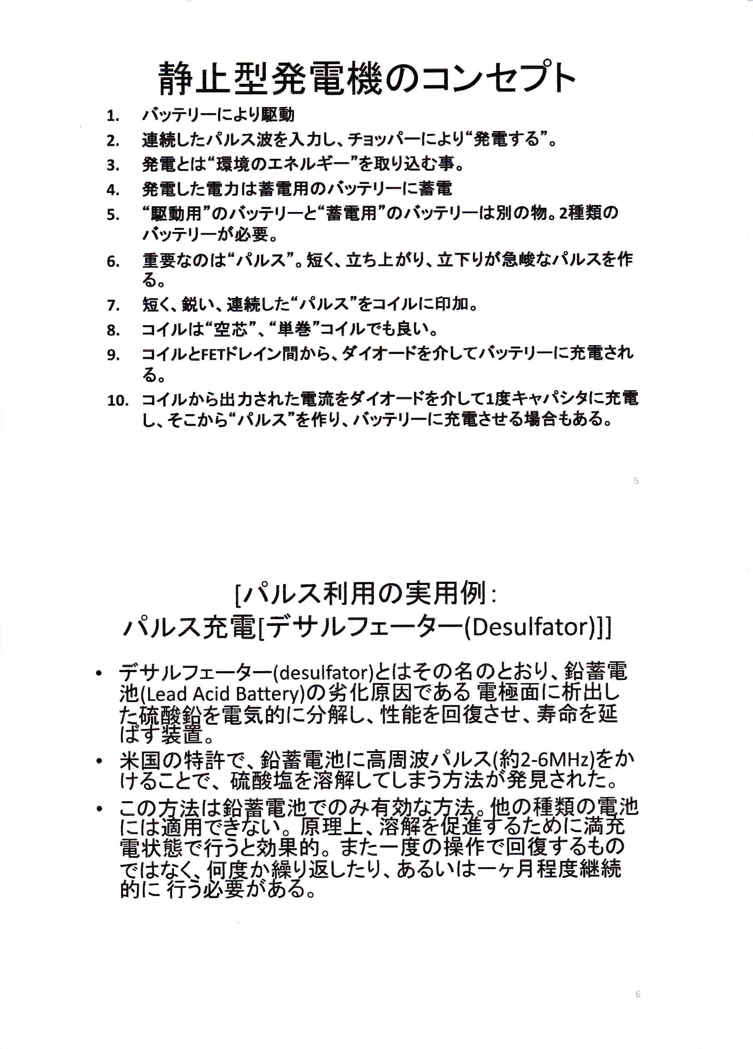 静止型発電機の基礎研究01-3