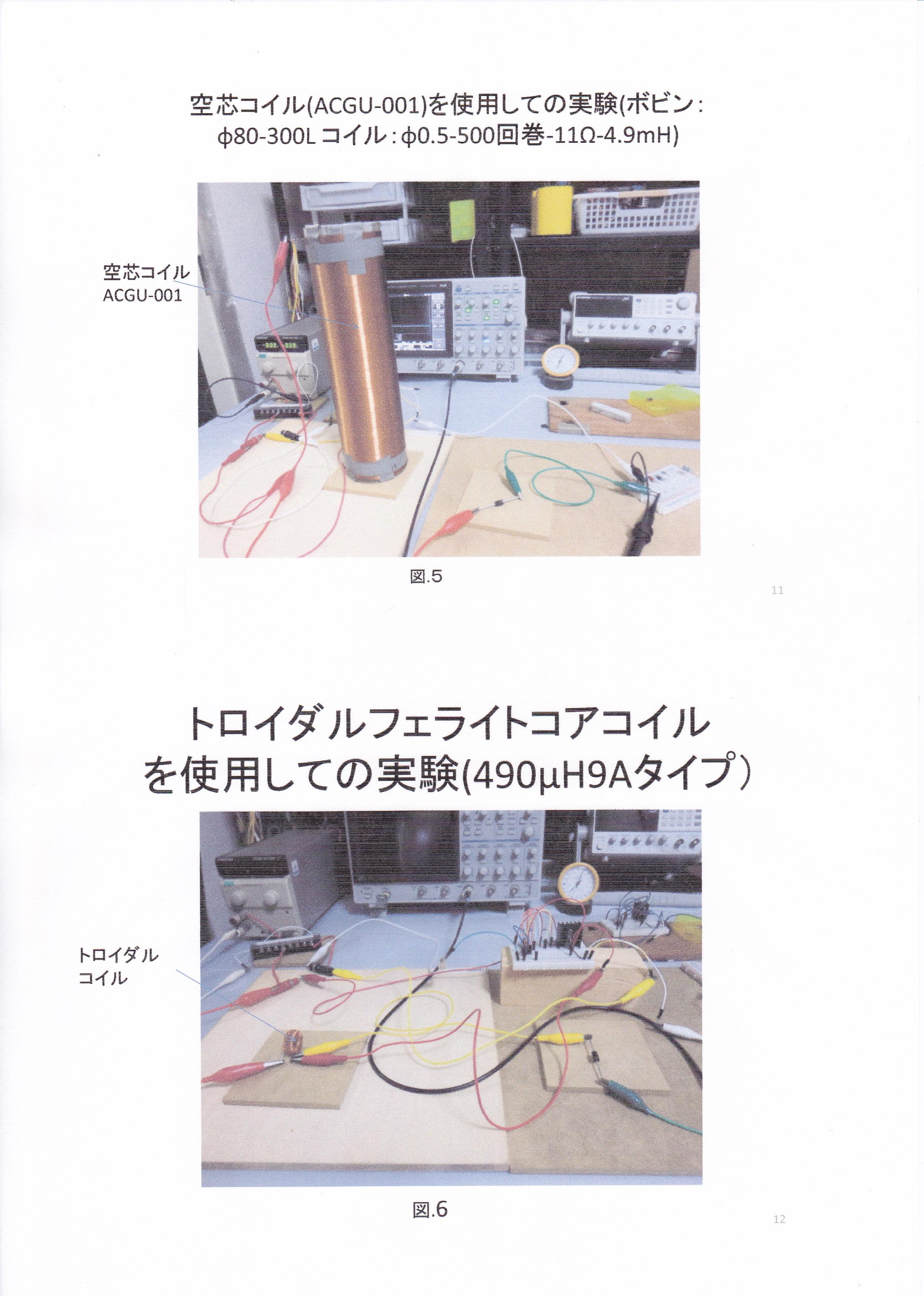 静止型発電機の基礎研究01-6