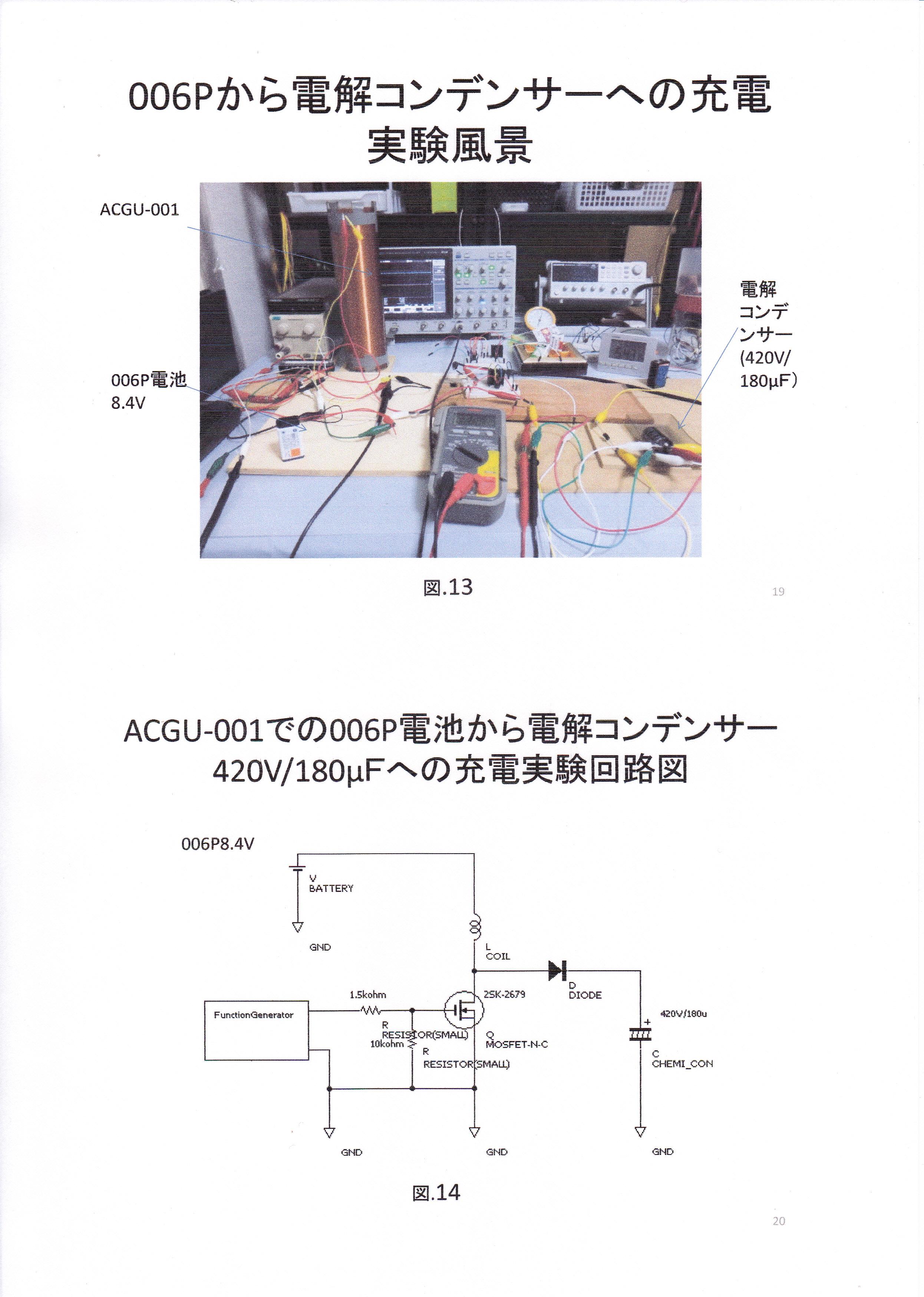 静止型発電機の基礎研究01-10