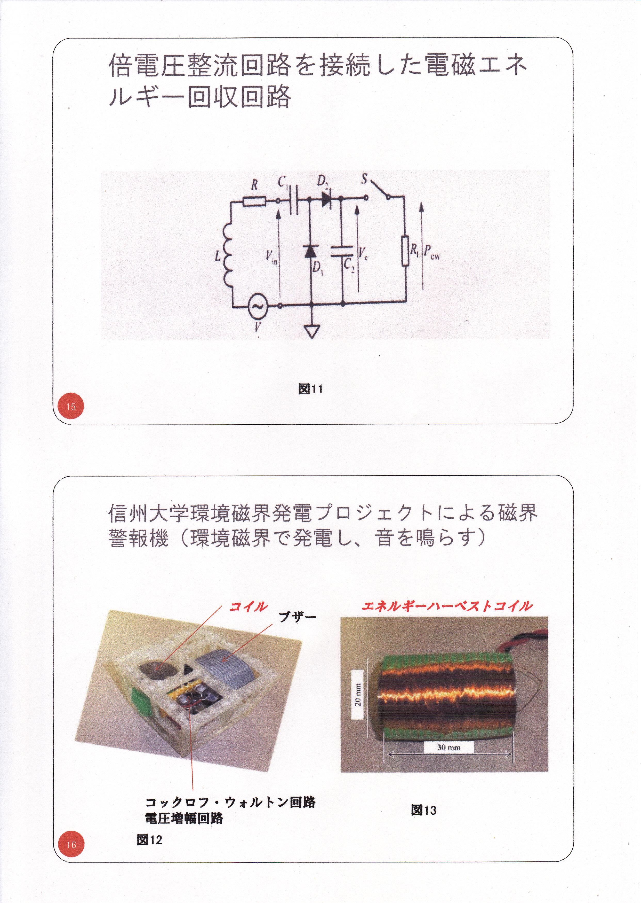 静止型発電機の基礎研究02(漏れ磁束コンバーター)8