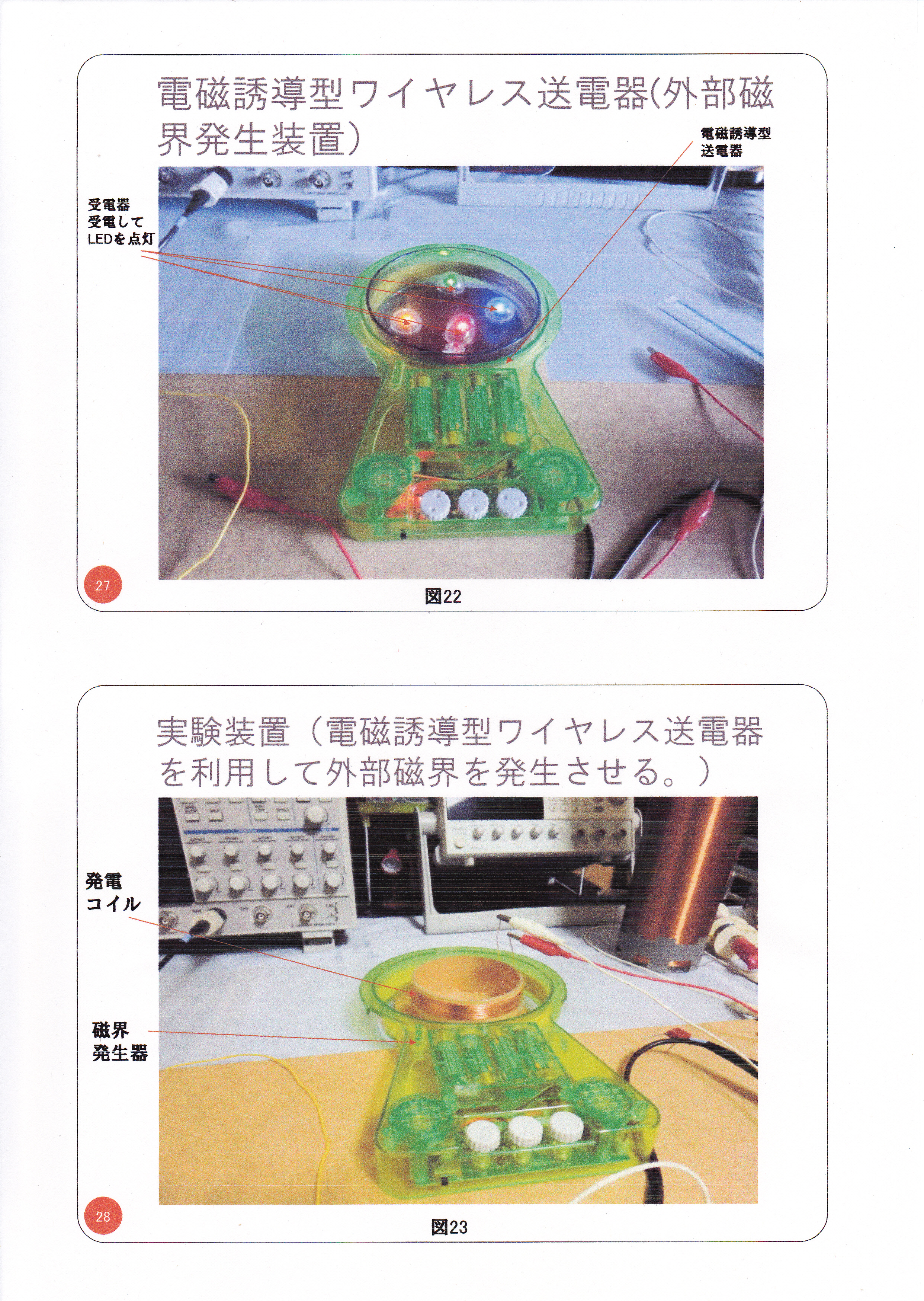 静止型発電機の基礎研究02(漏れ磁束コンバーター)14