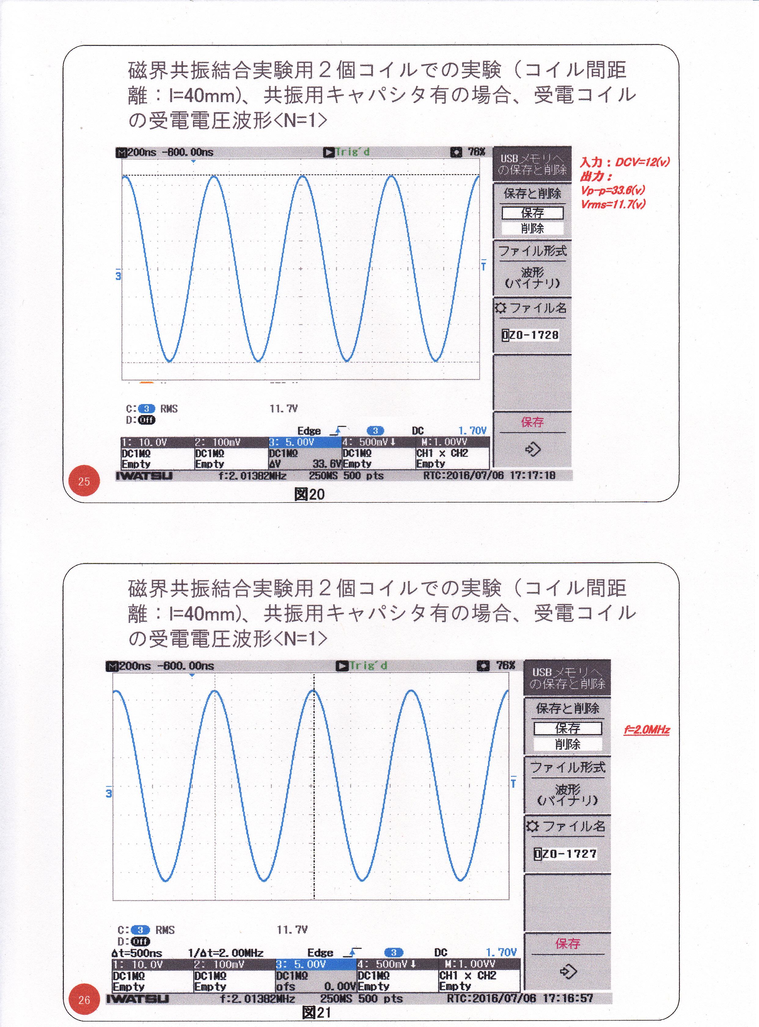 静止型発電機の基礎研究02(漏れ磁束コンバーター)13