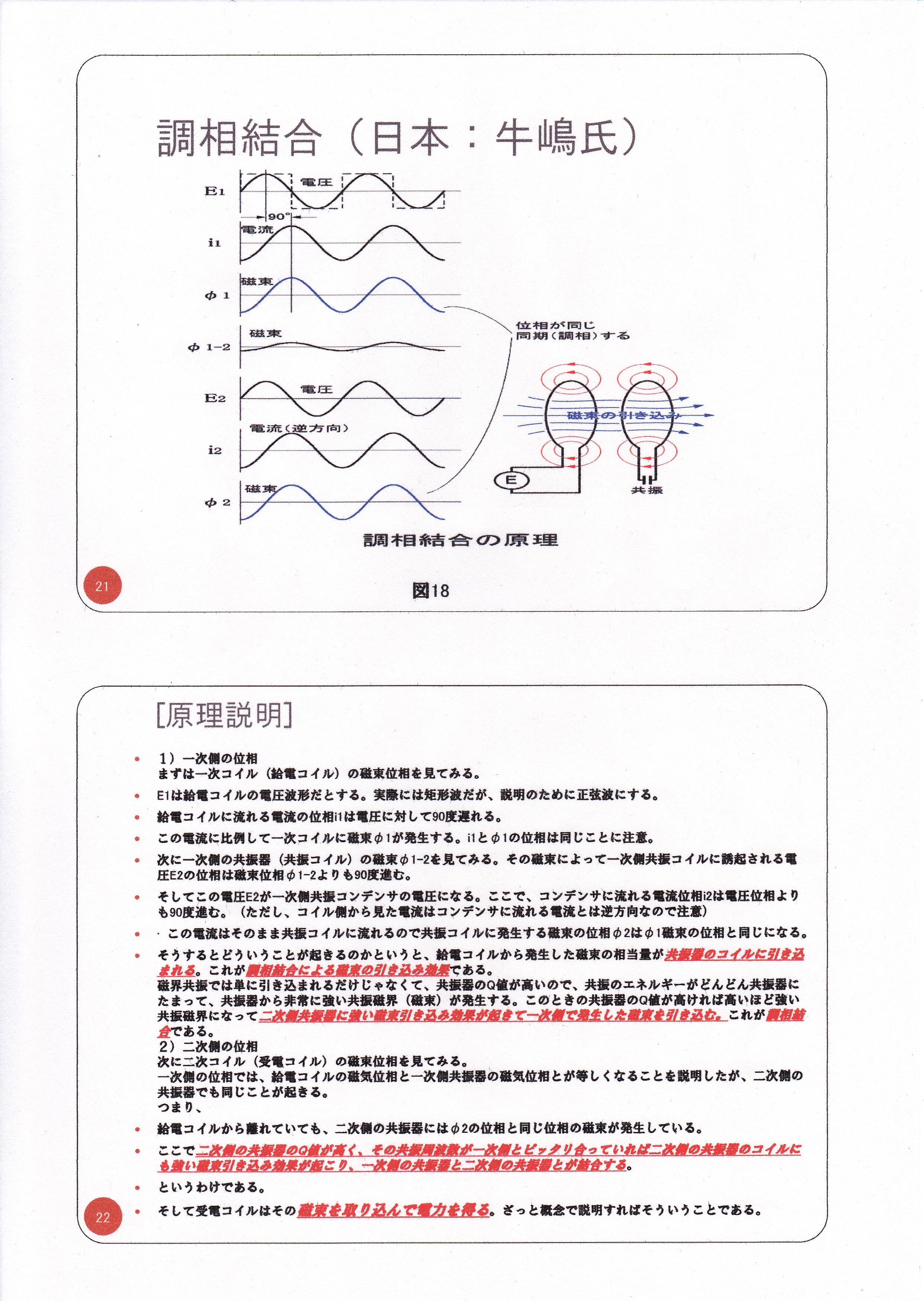 静止型発電機の基礎研究02(漏れ磁束コンバーター)11
